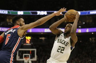 Middleton scores 51 as Bucks beat Wizards 151-131