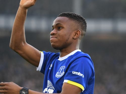 Ademola Lookman and Oumar Niasse grab hat-tricks in Everton 22-0 win over ATV Irdning