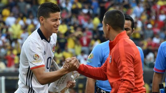 James Rodriguez, Alexis Sanchez playing for club careers at Copa America