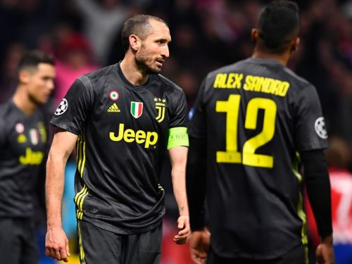 'We can still do it' - Chiellini believes in Juventus despite Atletico defeat