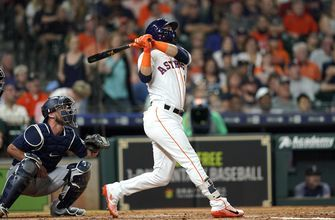 Gonzalez's homer helps Astros down Mariners 7-0