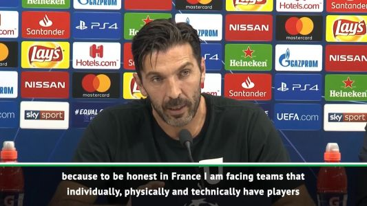 PSG aren't struggling in Europe due to domestic success - Buffon