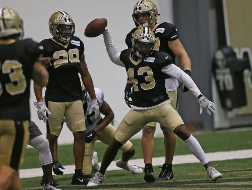 Marcus Williams' athleticism, instincts frequently on display in Saints camp