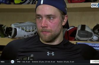 Victor Hedman breaks down 4-2 loss to Toronto, importance of bouncing back for Sharks matchup