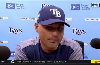 Kevin Cash credits consistency of Rays' bullpen in win over Yankees
