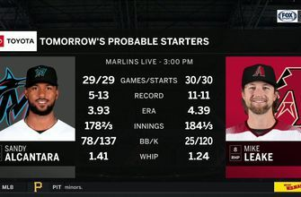 Marlins take aim at series win over Diamondbacks