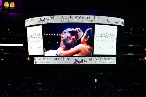 Los Angeles honours Kobe, Gianna Bryant with public memorial