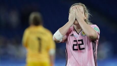 Scotland suffers crushing collapse to scuttle hopes of advancing