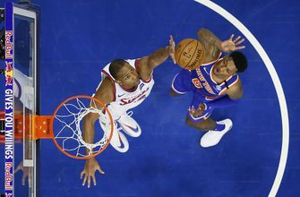 Tobias Harris leads short-handed 76ers past Knicks