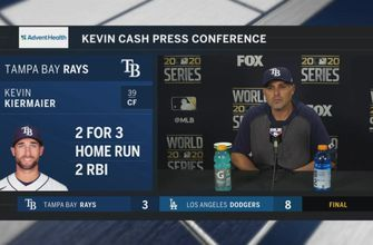 Kevin Cash breaks down Rays' loss to Dodgers in Game 1 of World Series