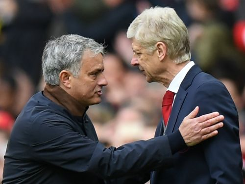 Video: Wenger one of the best managers in football history - Mourinho