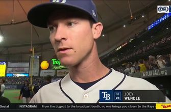 ALDS Game 4: Joey Wendle on clutch RBI, crowd at The Trop