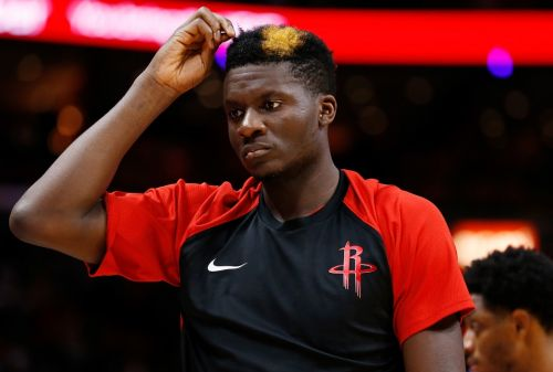 Report: Clint Capela to Miss 4-6 Weeks with a Right Thumb Injury
