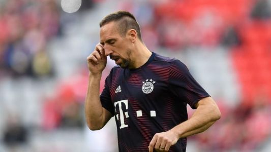 Ribery ruled out of German cup semi-final with muscle problem