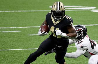 Alvin Kamara gives Saints 10-9 lead over Falcons with second-quarter touchdown run