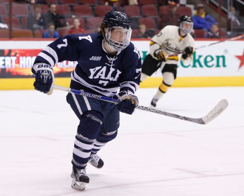 Capitals sign local product Joe Snively of Yale