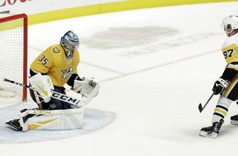 Crosby, Penguins beat Predators 2-1 in shootout