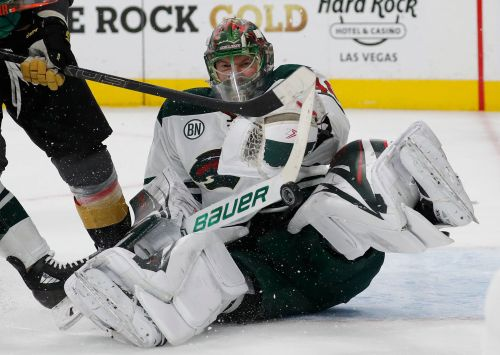 Coyle scores, Wild beat Golden Knights 4-2