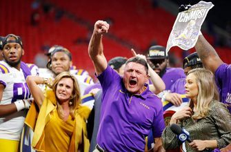 No. 2 LSU takes down No. 4 Georgia 37-10 to win the SEC championship and clinch a spot in the CFB playoff