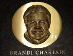 Brandi Chastain's Hall of Fame plaque looks nothing like her