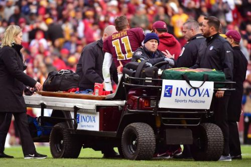 Joe Theismann says Redskins' Alex Smith's leg injury 'exactly like mine'