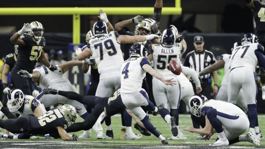 Rams punch Super Bowl ticket with OT win over Saints
