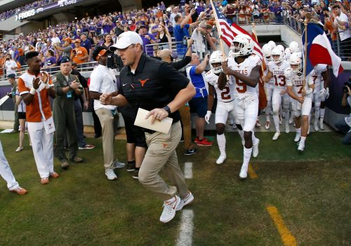 Texas looking to end run of TCU domination in Big 12 rivalry