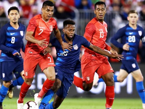 United States 1 Peru 1: Flores salvages late draw for visitors