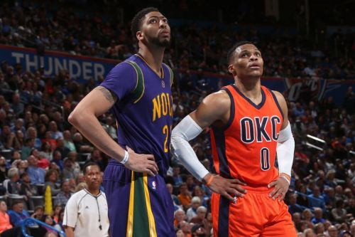 Anthony Davis: 'If I Have to Be Westbrook, I Will Be Westbrook'