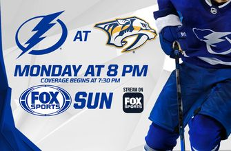 Preview: Lightning looking for a bit of revenge in rematch with Predators