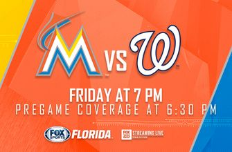 Preview: After day off, Marlins finally face Nationals for 1st time this season