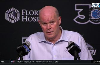 "Coach Steve Clifford describes tonight as a ""much needed team win"""