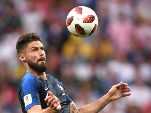 World Cup winner Giroud ends tournament without shot on target