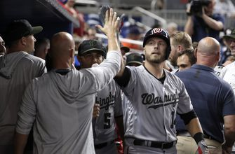 Reynolds HR in 9th helps Nationals rally past Miami 4-1