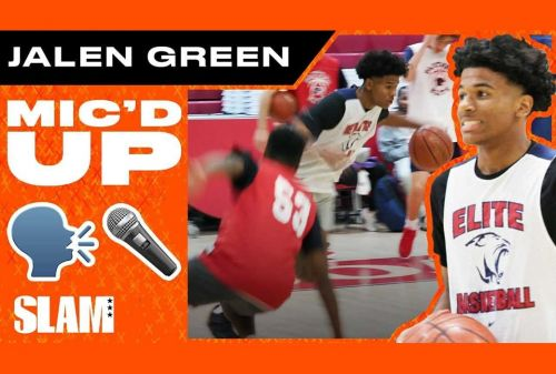 Jalen Green was WYLIN' while MIC'D UP at Practice 😂