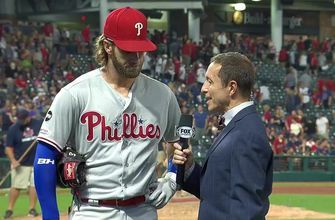 Bryce Harper tells Ken Rosenthal the Phillies, 'need to keep going'