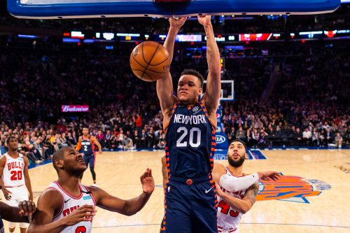 What NBA insiders say about Kevin Knox's messy Knicks future