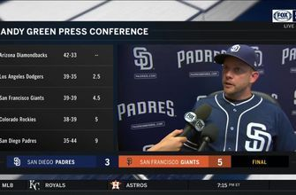 Andy Green gives an injury update on Jordan Lyles