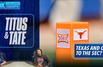 Titus & Tate break down what Texas and Oklahoma's departure from the Big 12 means for the rest of the conference | Titus & Tate