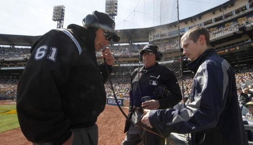 MLB ump show might explain replay calls to fans and teams, like NHL and NFL refs