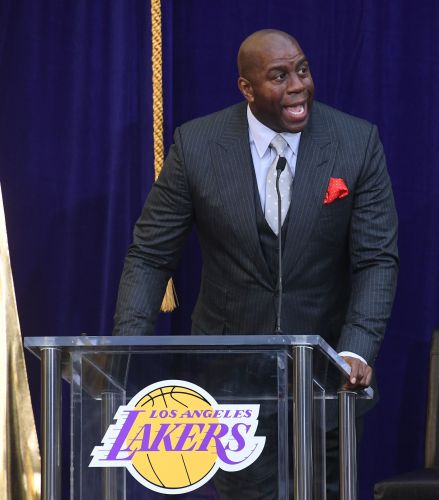 Magic Johnson shoots down criticism of Lakers' offseason moves