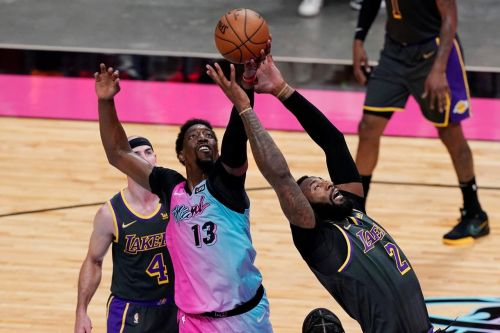 Butler scores 28 points, Heat edge depleted Lakers 110-104
