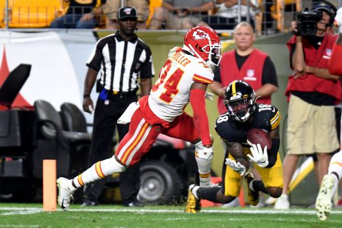 Steelers WR Johnson dedicates rookie year to late coach