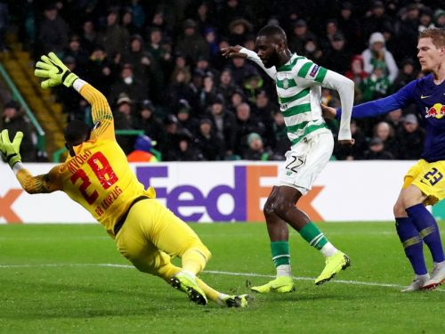 Celtic 2 RB Leipzig 1: Edouard breathes Europa League life into Hoops