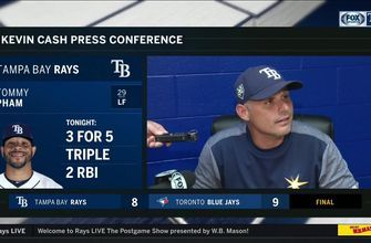 Kevin Cash breaks down how game slipped away from Rays in 9th