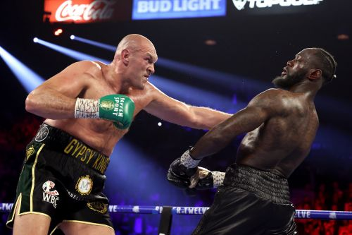 Tyson Fury explains why he licked blood off Deontay Wilder's neck