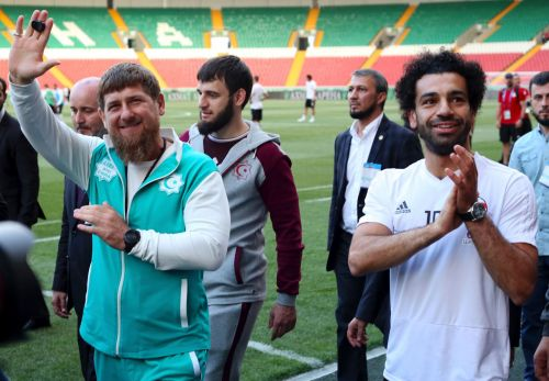 Grozny is a World Cup home away from home for Egypt squad