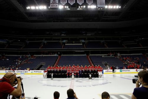 The Latest: Capitals await Stanley Cup parade, day at Mall