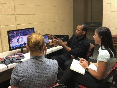 Referee school whistle stop on road to NBA duty