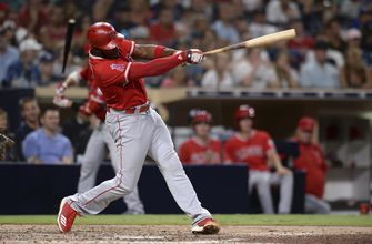 Upton leads Angels to 7-3 win over Padres